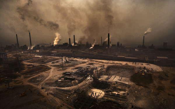 工厂排放的重金属