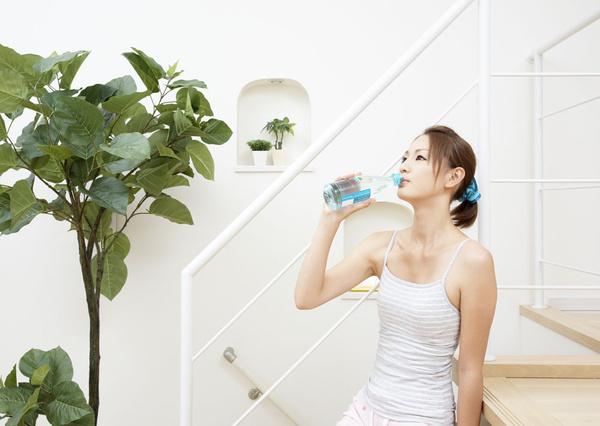 运动前喝水