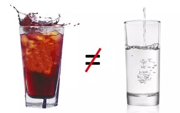 饮料不可以替代水