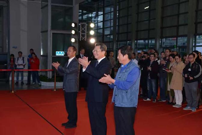 广东省委副书记、深圳市委书记马兴瑞,商务部部长助理、党组成员张骥