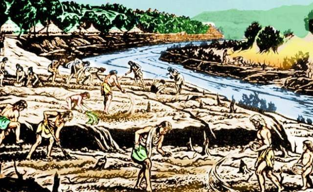 石器时代如何饮水
