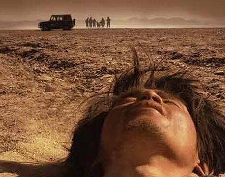 沙漠中缺水