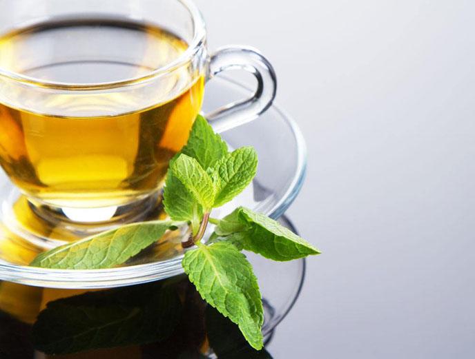 北非人喝茶爱加薄荷叶