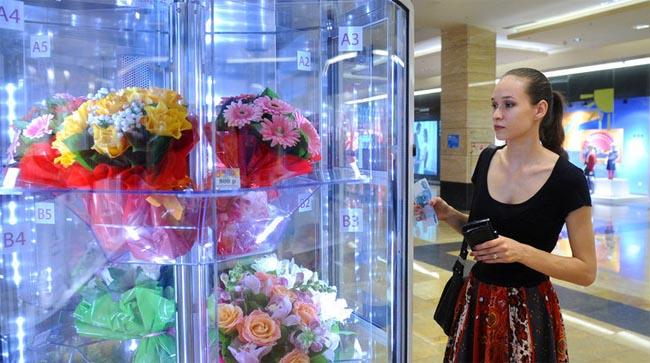 鲜花自动售卖机