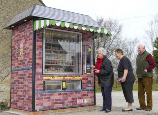 自动售货机替代超市