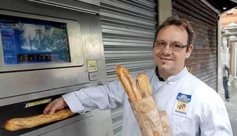 法国长棍面包售卖机