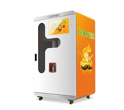 福能达橙汁售货机