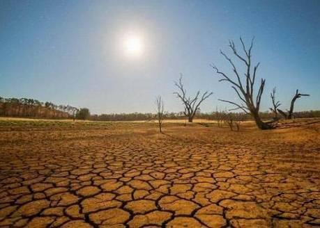 土地干枯,水资源缺乏