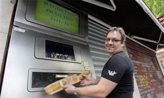 法国长棍面包自助售卖机
