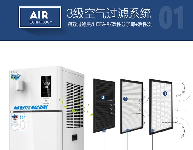 空气制水机空气过滤
