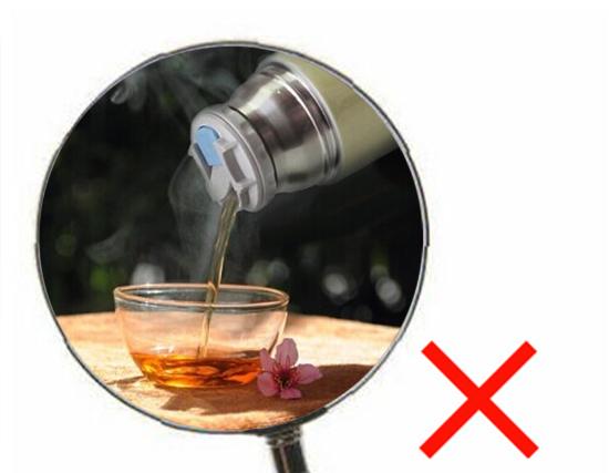 不要用保温杯泡茶