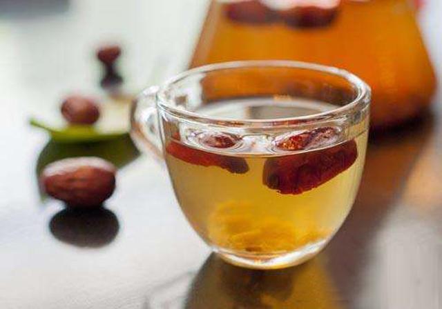 红枣桂花茶