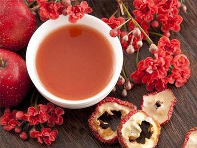 核桃仁山楂茶
