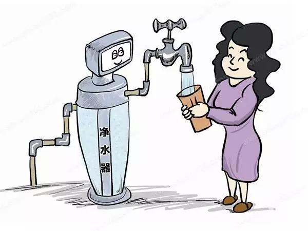 净水器解决自来水二次污染