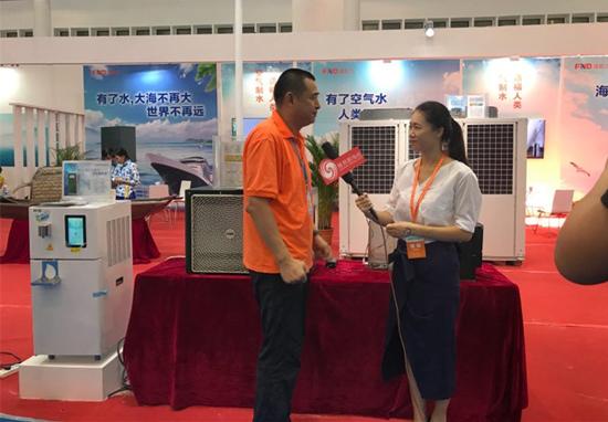 福能达营销中心总经理郭卫红在接受凤凰网记者采访