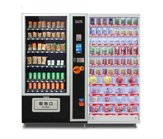 多门格子柜自动售货机