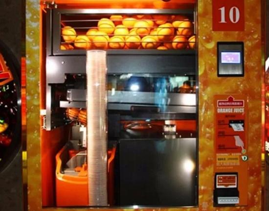 鲜榨橙汁机