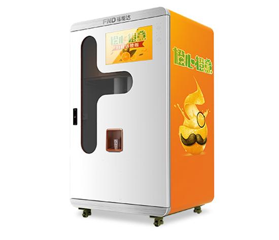鲜榨橙汁自动售货机