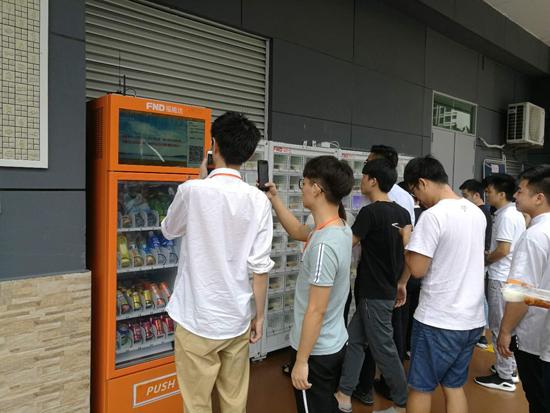 综合自动盒饭售卖机