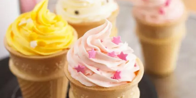 多品种冰淇淋