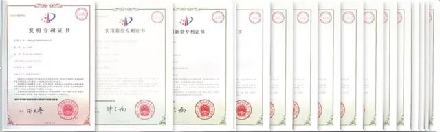 福能达空气制水机的发明认证及检测证书