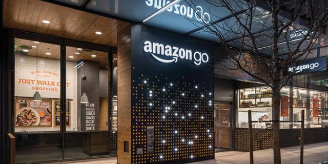 Amazon go 无人便利店