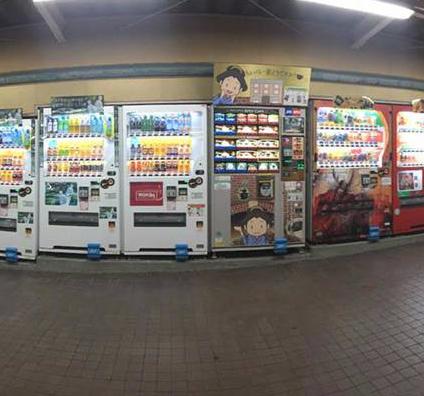 日本人为何喜欢自动投币饮料售货机