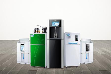 多功能空气制水机:多功能制水净化加热一体机